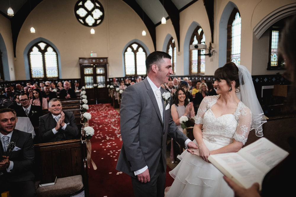 Nicola and Stuart - Parkland - Widnes | Wedding