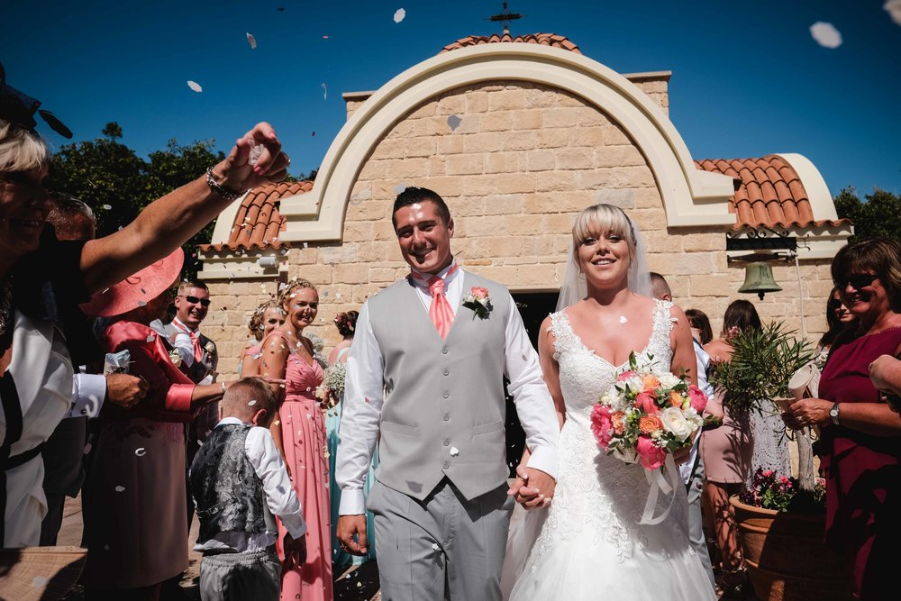 Rachael and Alex - Elysium Hotel - Paphos Cyprus | Destination Wedding
