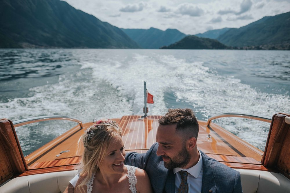 Victoria and Paul - Villa Balbianello - Lake Como, Italy | Destinaiton Wedding