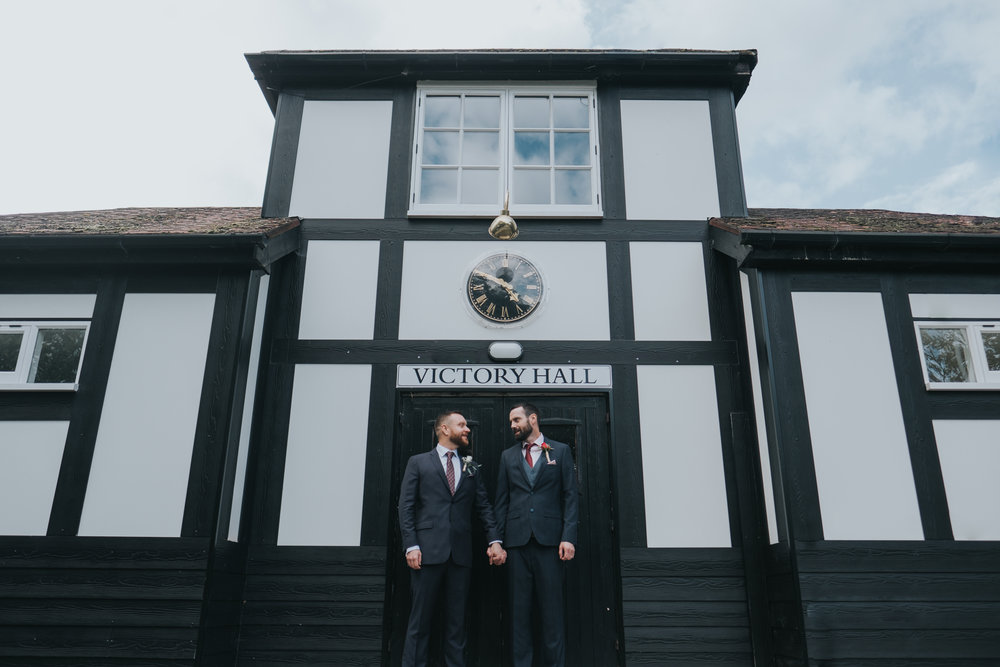 James and James - Victory Hall, Mobberley - Manchester | Wedding
