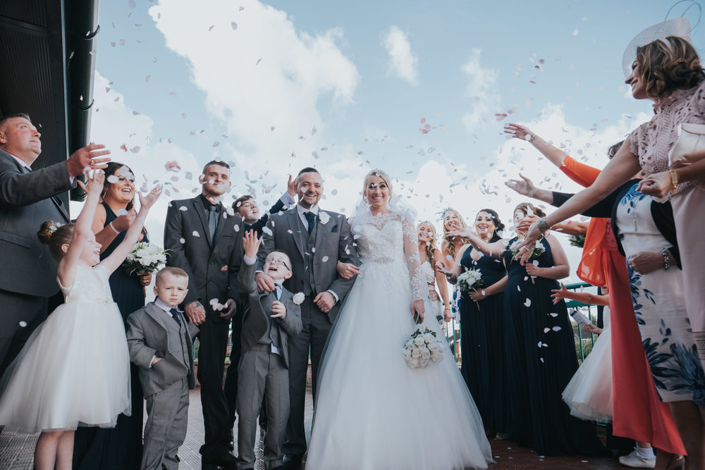 Samantha and John - Parkside, Golborne  - Manchester | Wedding