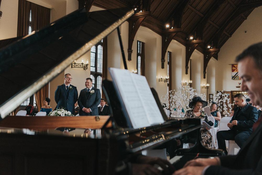 Beautiful relaxed wedding at Bolton School wedding venue
