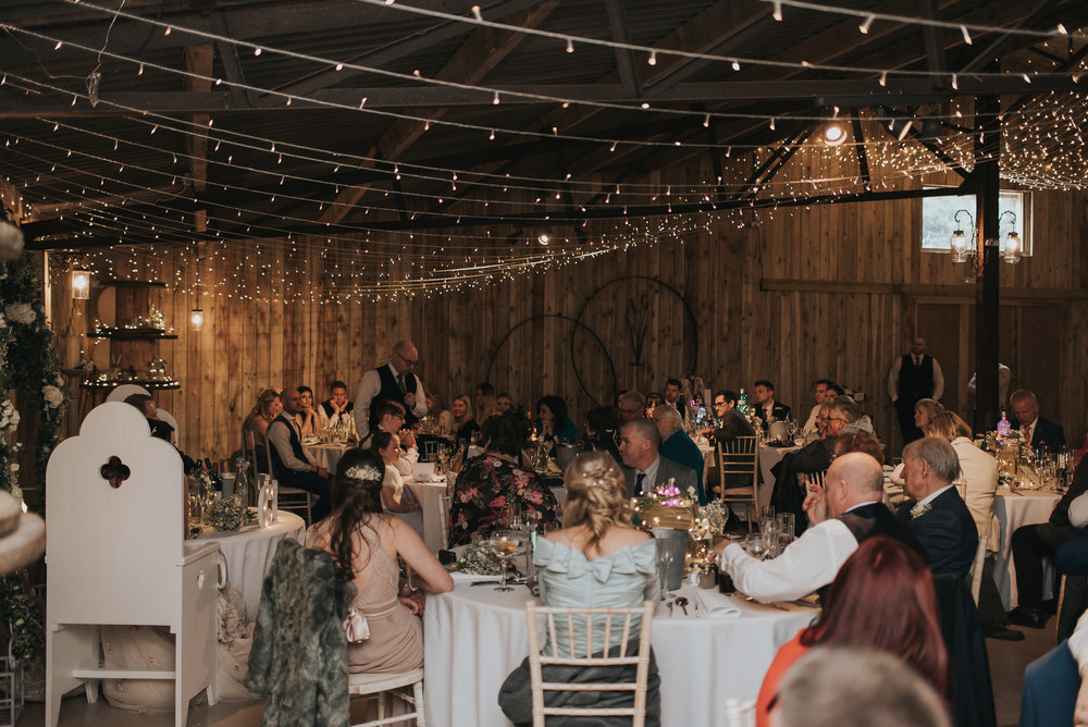 brother of the brides speech at Alcumlow Hall Farm