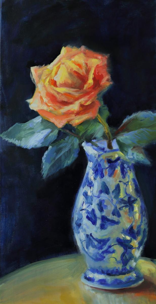 The orange rosa