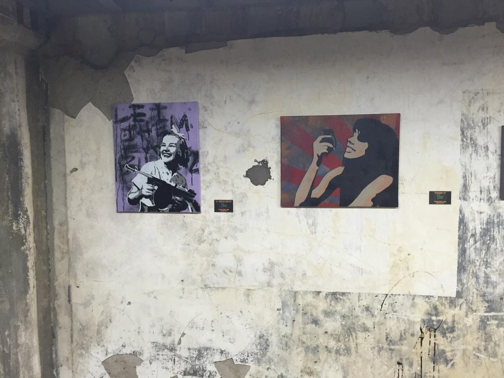 Stencil Killers work