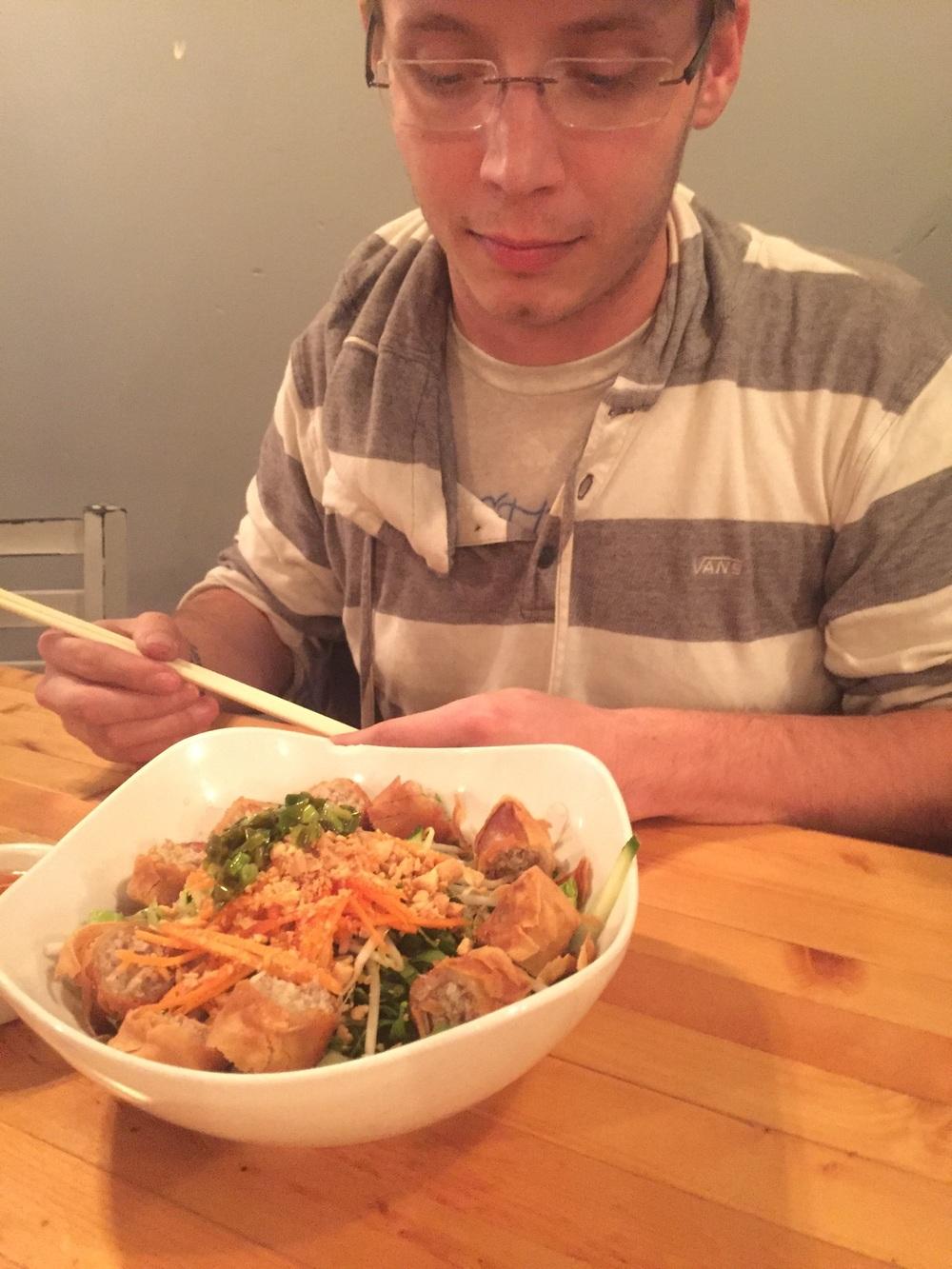 Justin's pork bowl