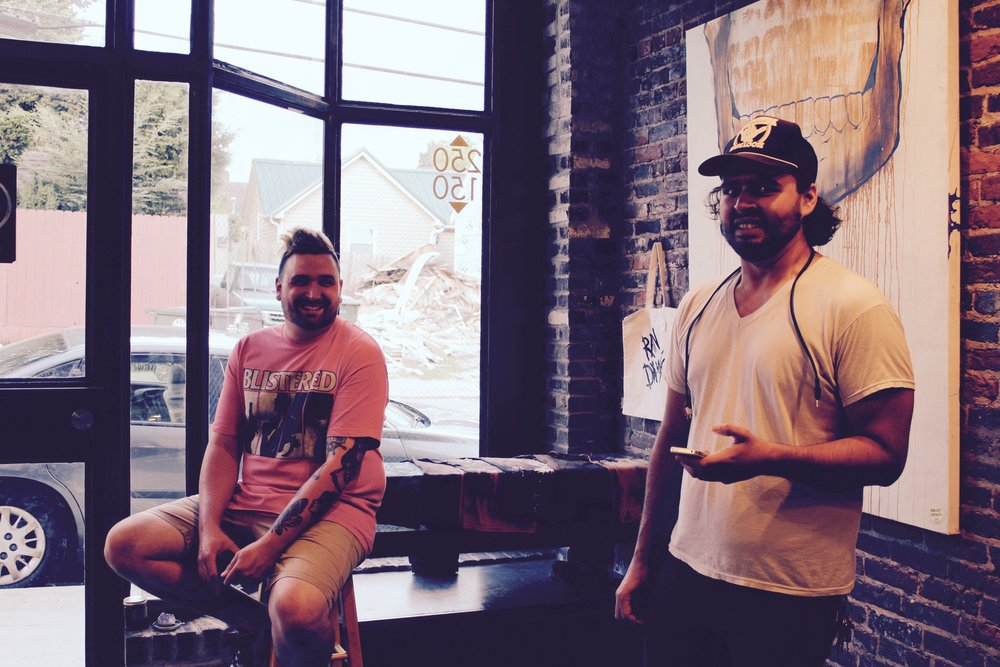 Chris jones and Daric