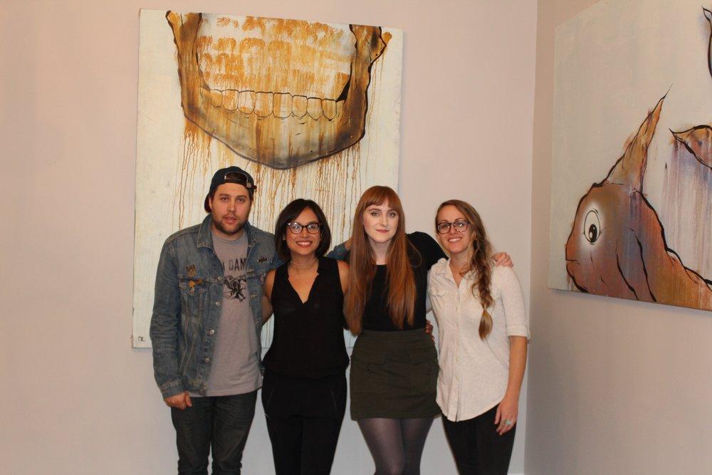 Me, Ana, Sarah, Colleen