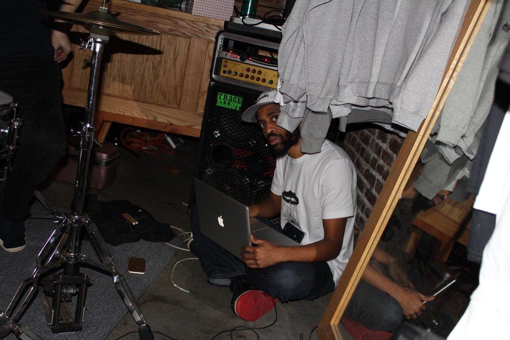 Petey in the corner