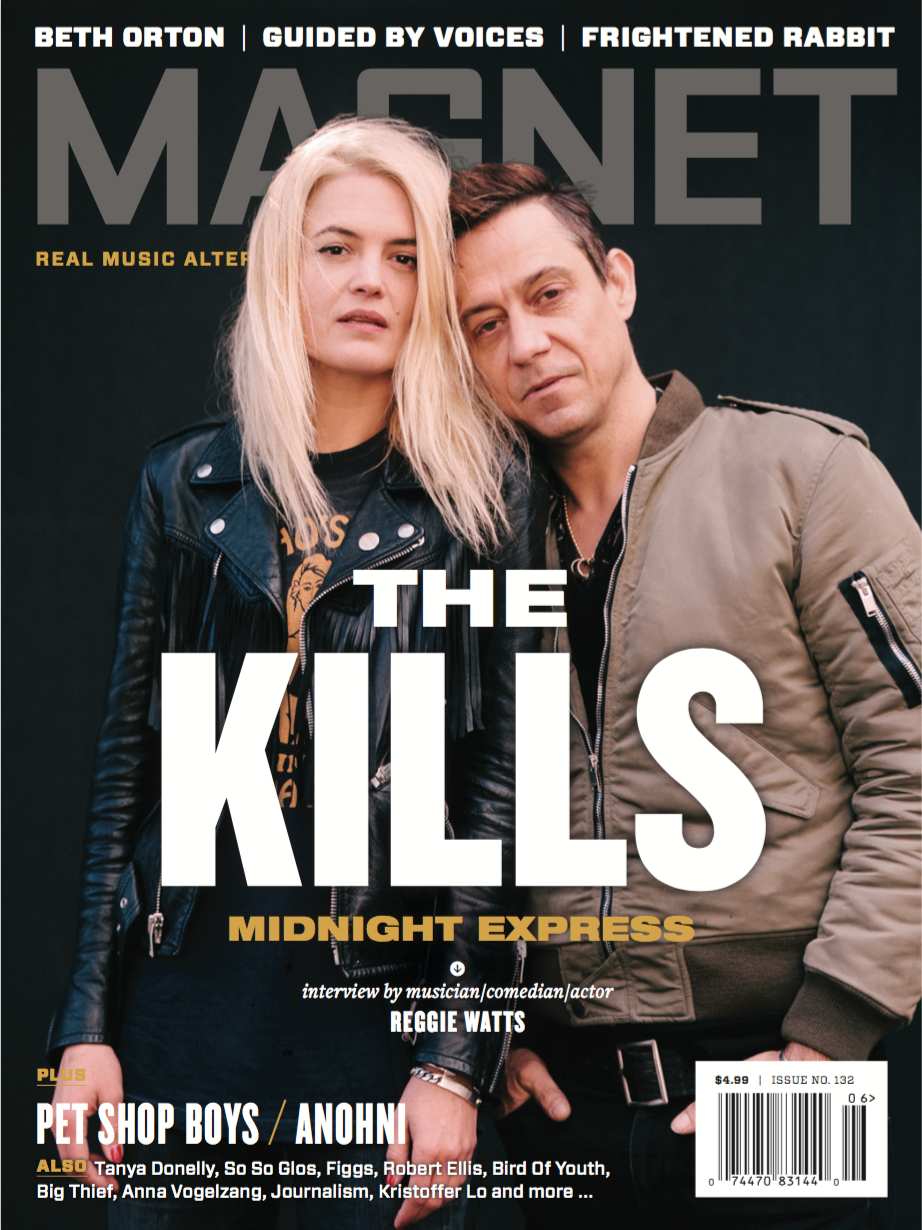 Alison Mosshart & Jamie Hince of The Kills