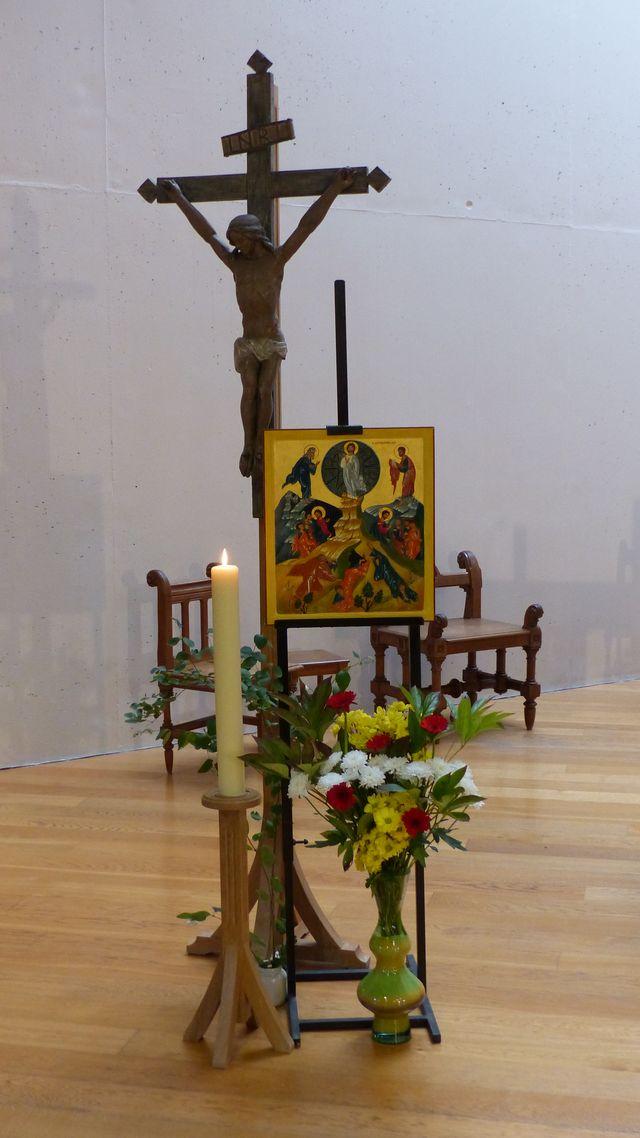 Icône de la Transfiguration, fête des iconographes...