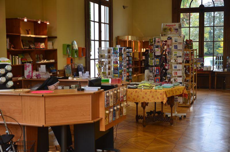 Bienvenue à la boutique du monastère.