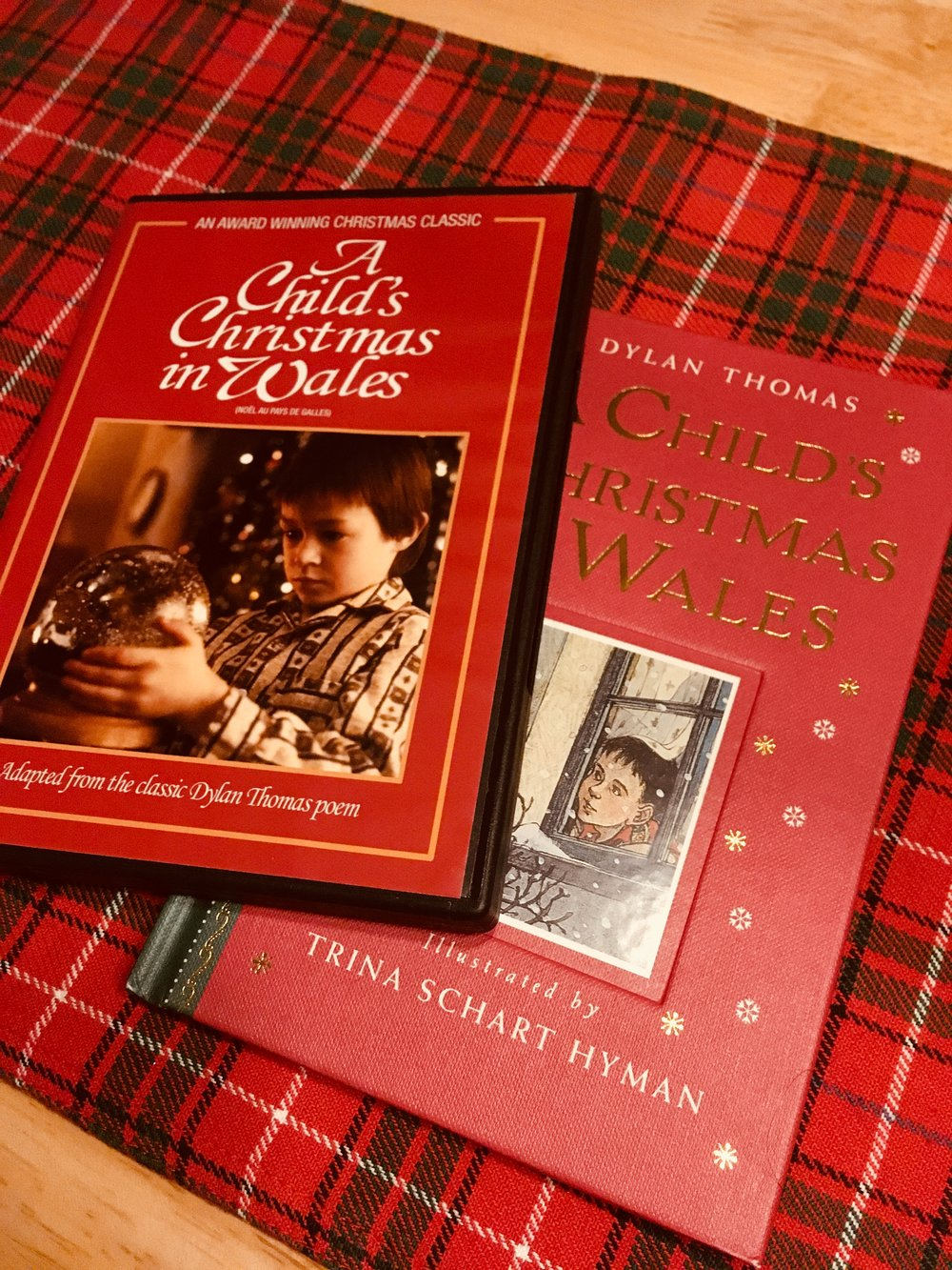 My favorites! A beautiful film, and a beautifully-illustrated book to match. Hello, stocking stuffers.