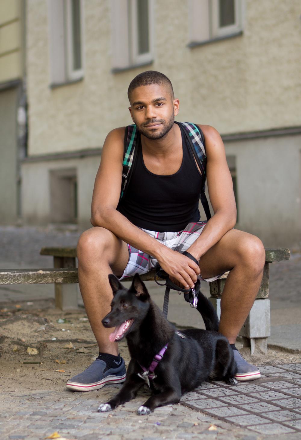 Fra Anders F's reportage om berlinske hundeejere aug 2015.