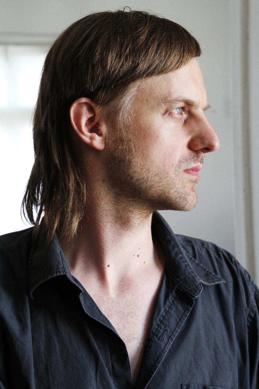 Mette K's portræt af Maciej taget på kurset aug 2015