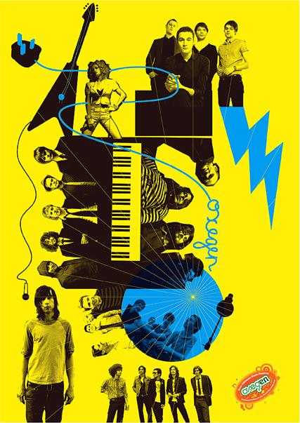 Oxegen Festival Poster, Dublin