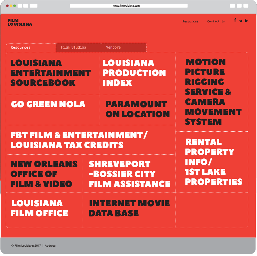 Film Louisiana Resources Page
