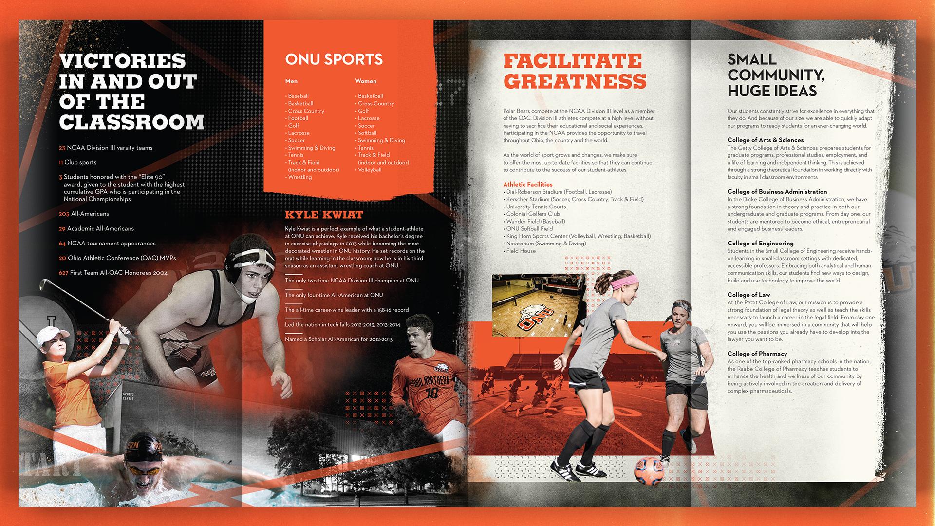 Ohio Northern University Sports — Josh Schott