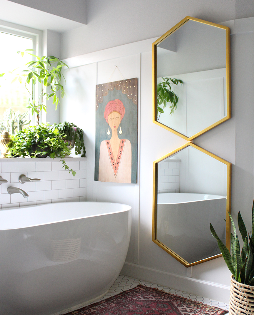 Bathroom remodel by Kristin Laing Design