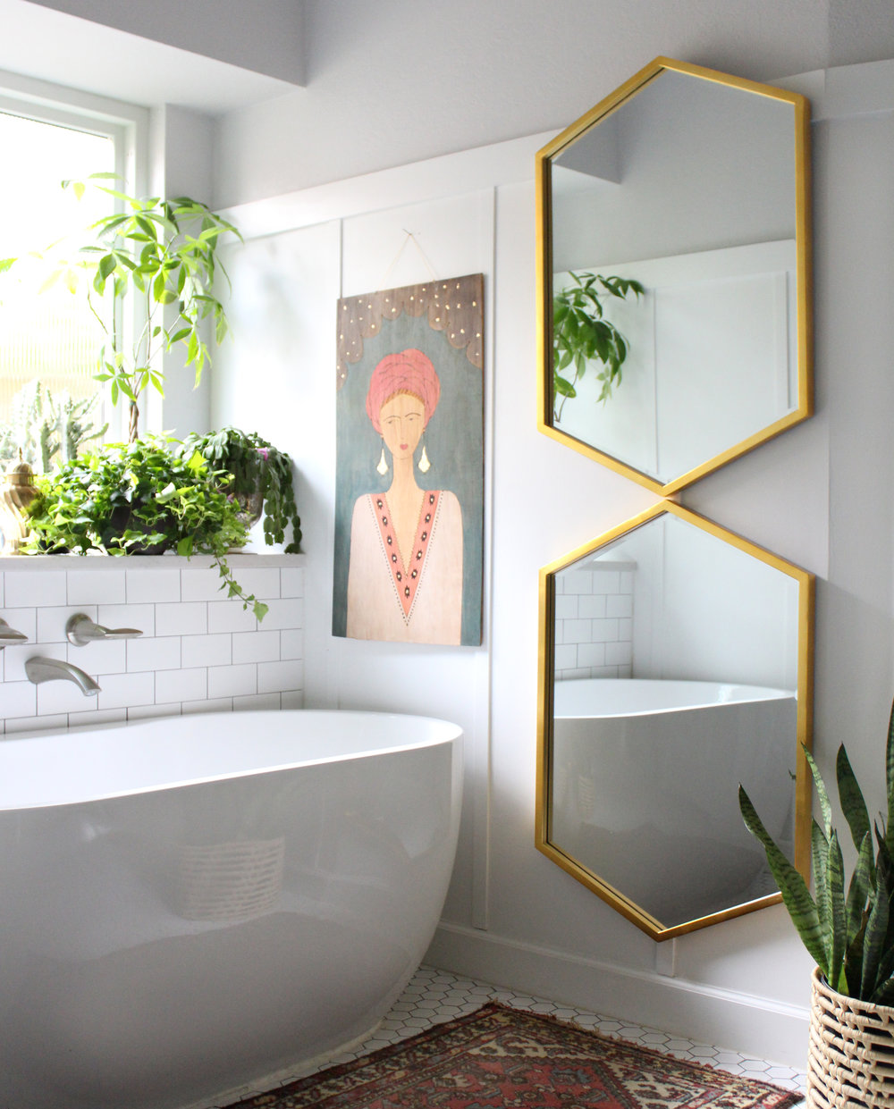 Updated master bathroom by Kristin Laing Designs