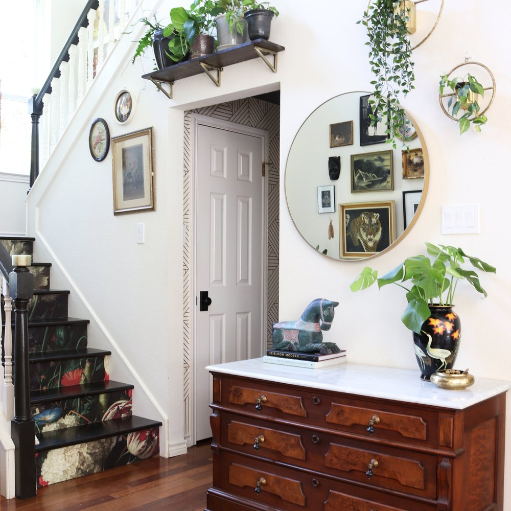 kristin laing wallpapered stairway.jpg