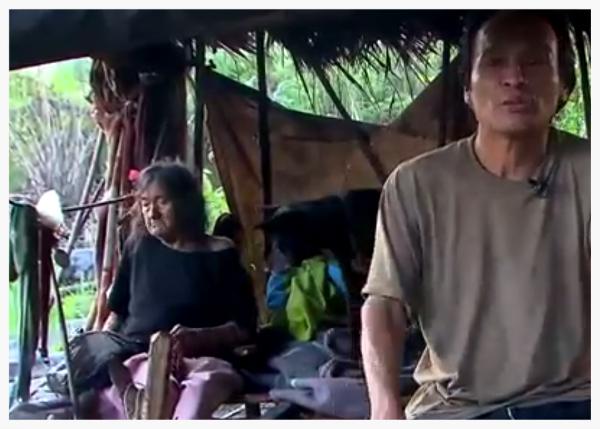 """Rosario Ware y Mariano Mashendo. Foto tomada del video """"A punto de estallar"""" del programa Visión 360."""