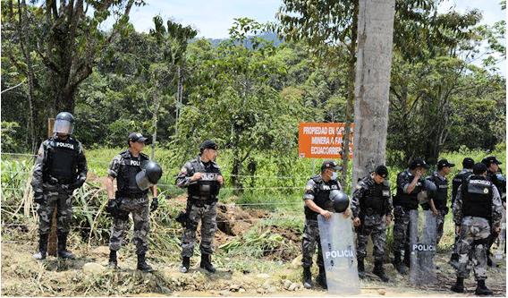 Policias Antimotines Tundayme
