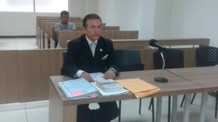 El fiscal Carlos Rodíguez participó en la audiencia de juzgamiento del caso de Tedetza