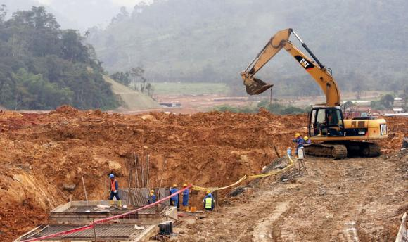 El gobierno inauguro en diciembre el proyecto minero mirador, ubicado en la parroquia tundayme ,cantón el Pangui de la provincia amazónica de Zamora Chinchipe