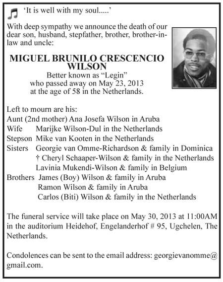 Miquil Brunilo Crecencio Wilson