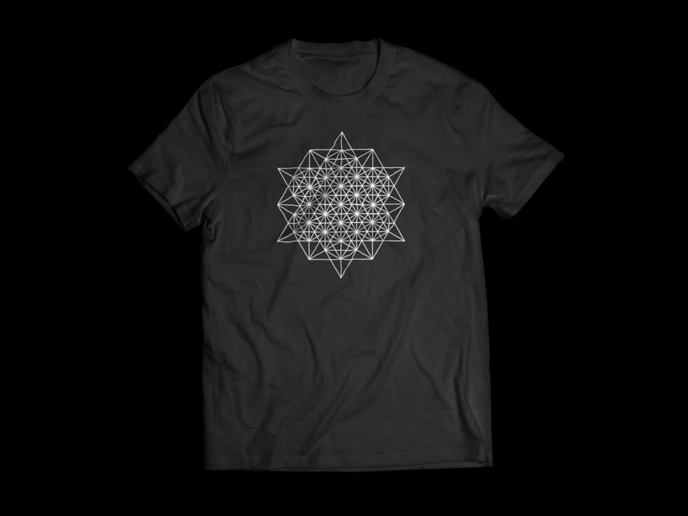 Wizard Technologies LLC Logo Branding Star Tetrahedron T-Shirt