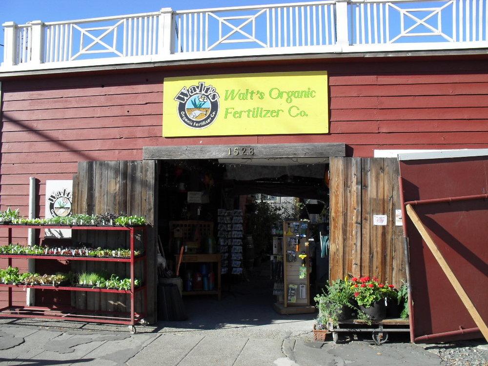 Walt's Organic Fertilizer Company - Ballard Seattle