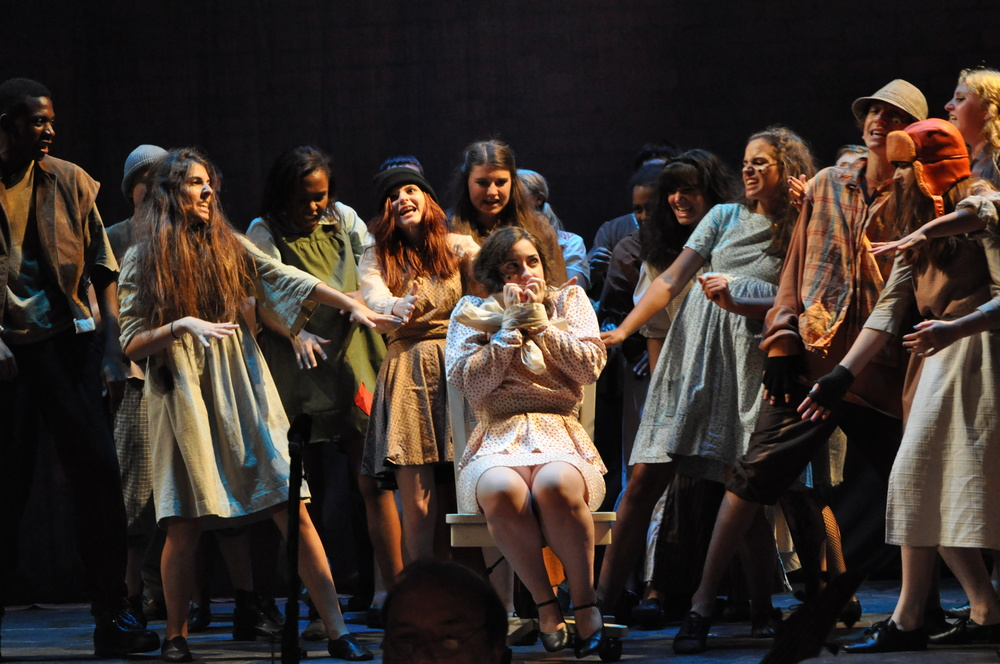 The cast of   URINETOWN  , August 2012