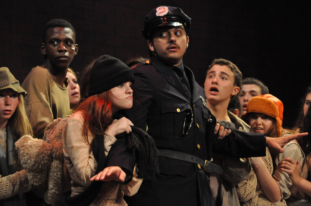 It's a privilege to…see young performers tackle sophisticated and edgy material with unparalleled commitment, talent and passion. And that's just what the members of Rockland County's The New Generation Theatre (NGT) did this past weekend with a stellar production of URINETOWN. - -Jason Cocovinis
