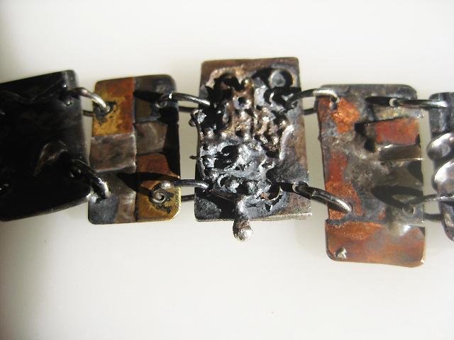 Panel bracelet, detail $400.00