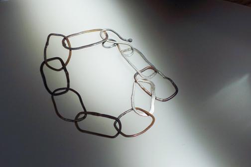 Flat Chain Bracelet  $65.00