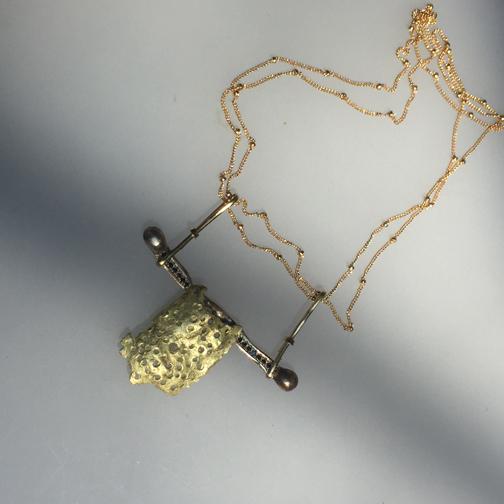 Samurai Remnant Necklace $1500.00