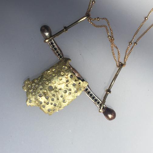 Samurai Remnant Necklace (detail)