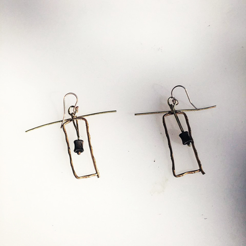 Zen Bell Earrings  $895