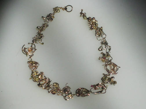 Gold Trash Necklace  $5000.00