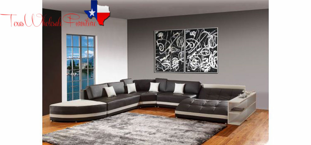 Bonded Leather Sectional Sofa 20 jpg. MODERN FURNITURE   Texas Wholesale Furniture Co