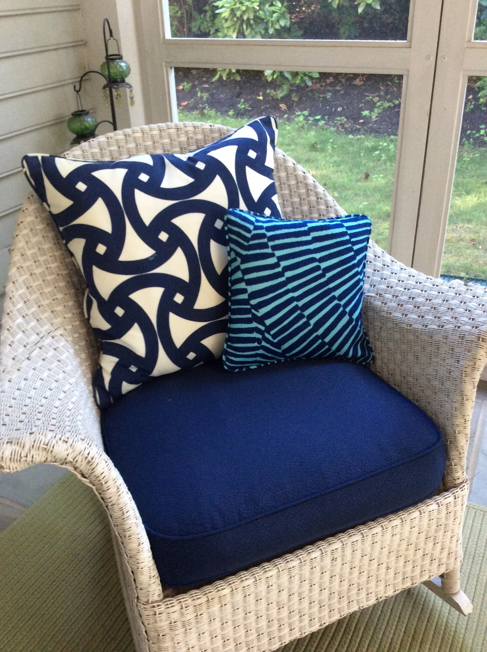 At The End, We Guarantee The Perfect Fit And Durability Of Your New Cushions .