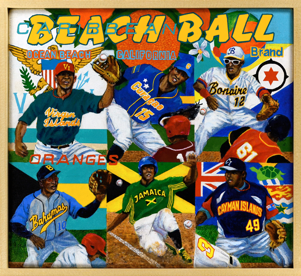 Carribean Beach Ball Brand