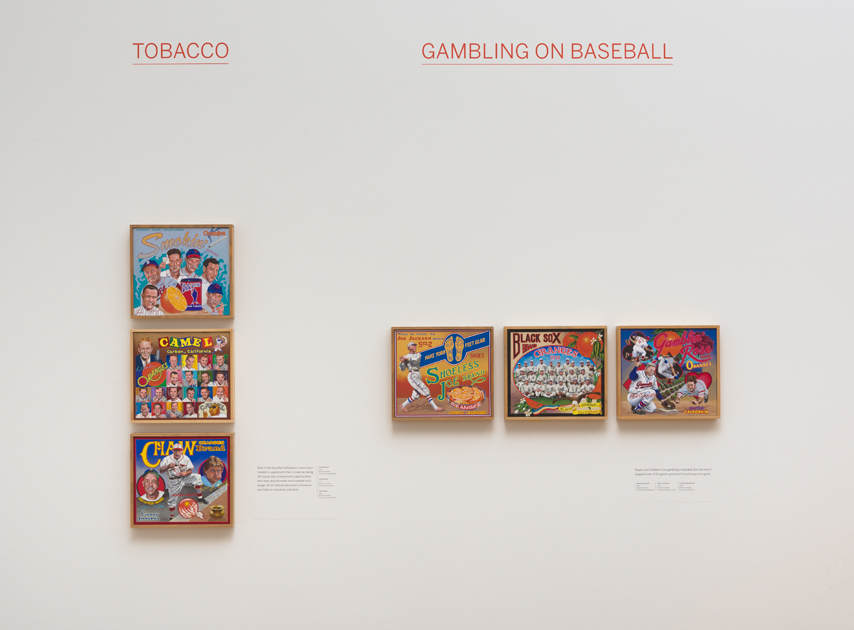 ∞ TOBACCO (view paintings)                 ∞ GAMBLING ON BASEBALL (view paintings)
