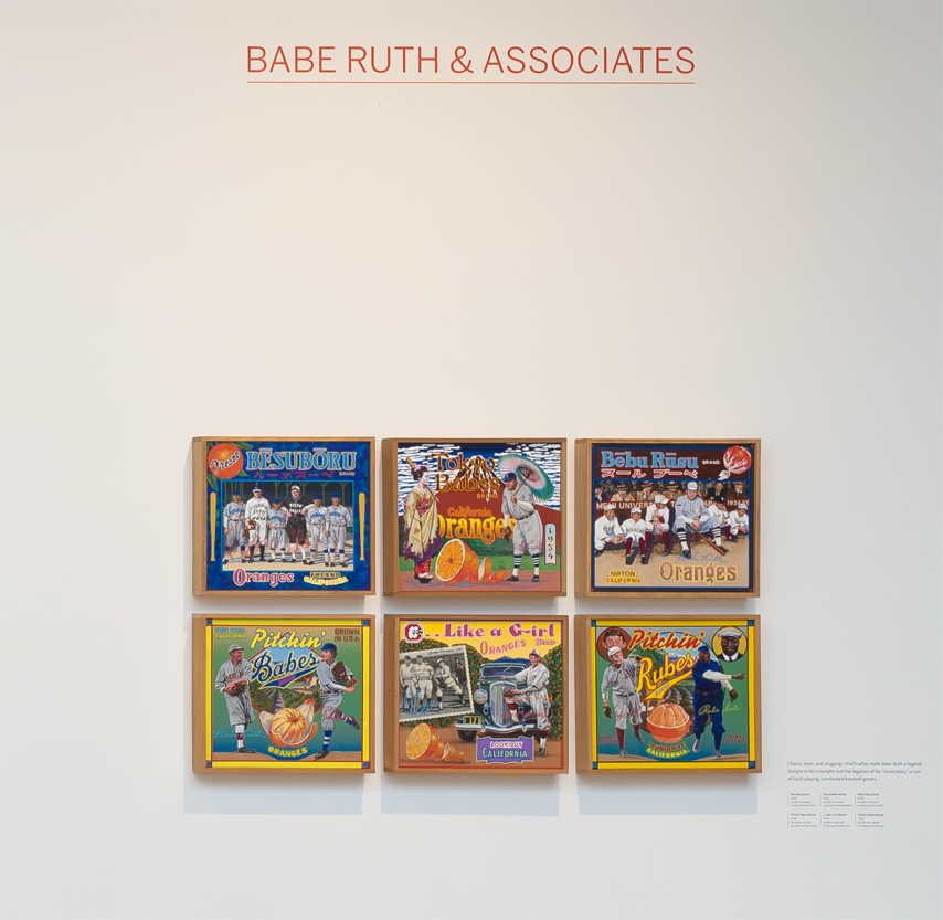 ∞ BABE RUTH & ASSOCIATES (view paintings)