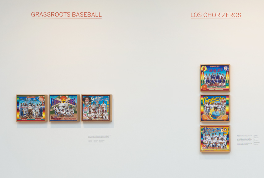 ∞ GRASSROOTS BASEBALL (view paintings)               ∞ LOS CHORIZEROS (view paintings)
