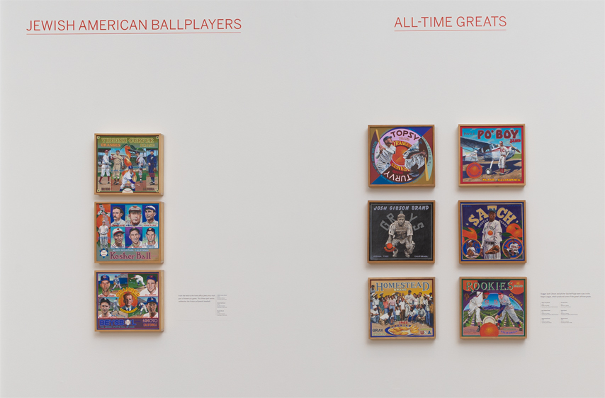∞ JEWISH AMERICAN BALLPLAYERS (view paintings)                 ∞ ALL-TIME GREATS (view paintings)