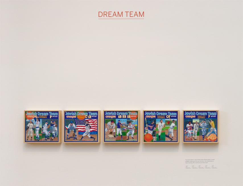 ∞ DREAM TEAM (view paintings)