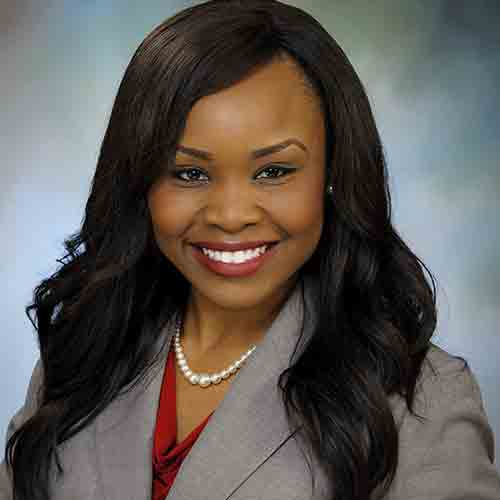 Elizabeth Ekpo      Medical School:  University of Texas, Medical Branch  Residency:  St. Louis University
