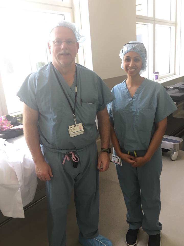 Shivani Sadwal  -   Orthopaedics  Medical School:   Alabama College of Osteopathic Medicine  Preceptor:  Dr. Gregory Schmeling  NDSI Location:  Medical College of Wisconson